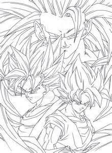 goku 4ever lineart ezio anime deviantart
