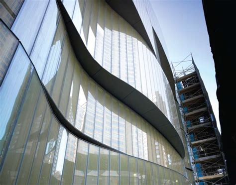 faceted glass curtain wall system a fabrication feat glass magazine