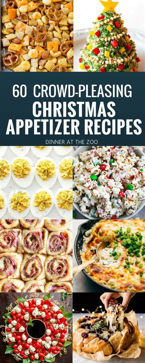 60 christmas appetizer recipes dinner at the zoo