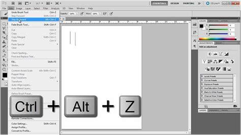 illustrator draw undo tutorial photoshop s undo steps and increasing history