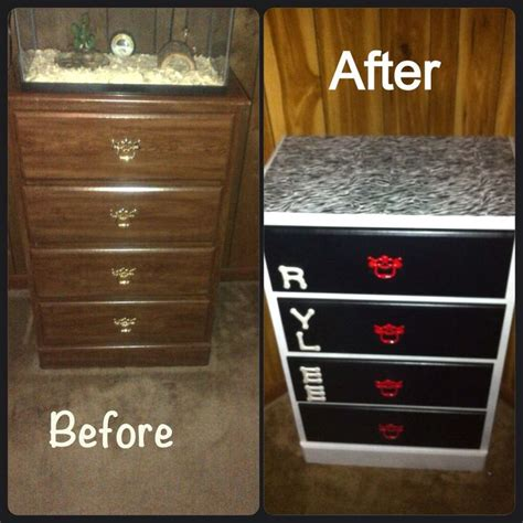Particle Board Dresser by Junkie Particle Board Dresser Redo Home Sweet Home