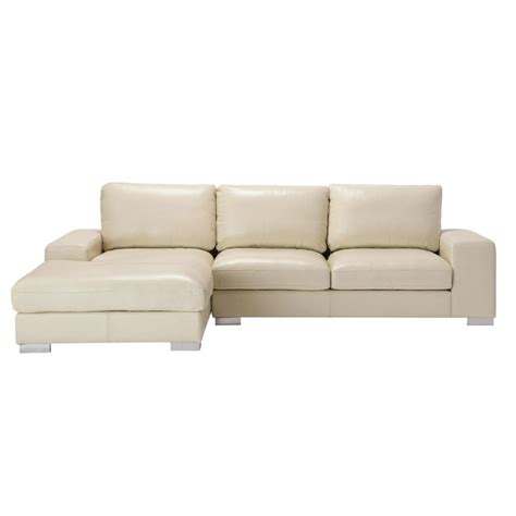 canape d angle 5 places cuir canap 233 d angle 5 places fixe cuir ivoire york
