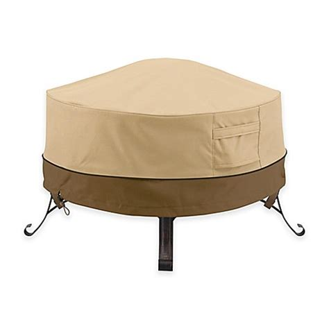 outdoor firepit cover classic accessories 174 veranda firepit cover bed bath beyond