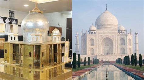 Perhiasaan Set Xuping Berlian Replika replika taj mahal dari bahan perhiasan seharga rp 177 miliar kabar berita artikel