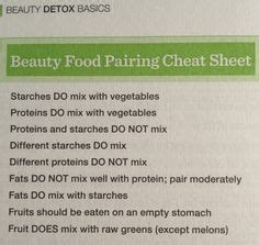 Proper Detox Diet Plan by 1000 Ideas About Food Combining Chart On Food
