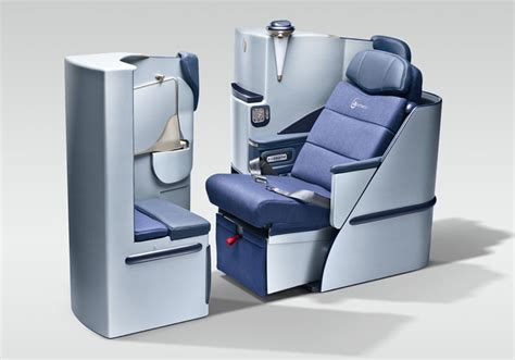 Semi Reclining Position by Business Class Service On Board Airberlin