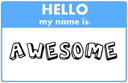 hello my name is awesome by little jade fox on deviantart