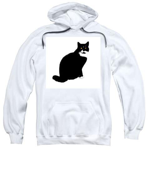 Sweater Hoodie Model Caterpillar Biru Dongker snow cat pull hoodie for sale by expressionistart studio priscilla batzell