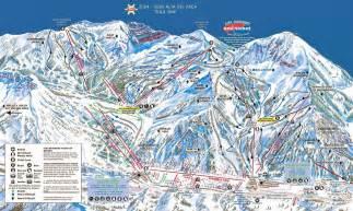 Snowbird Utah Map by Best Ski Resorts Usa