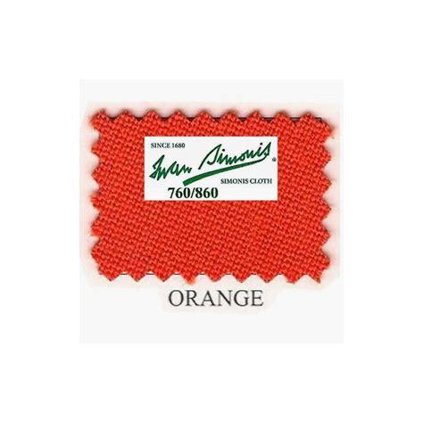 Tapis Billard Simonis by Kit Tapis Simonis 760 7ft Us Orange Billard Bmv