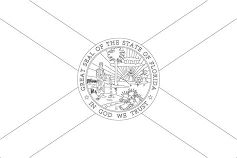 World Flags Coloring Pages 3 Florida Flag Coloring Page