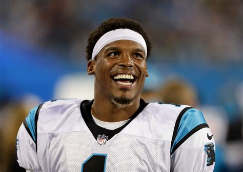 does cam newton have tattoos newton throws shade at reporter s question