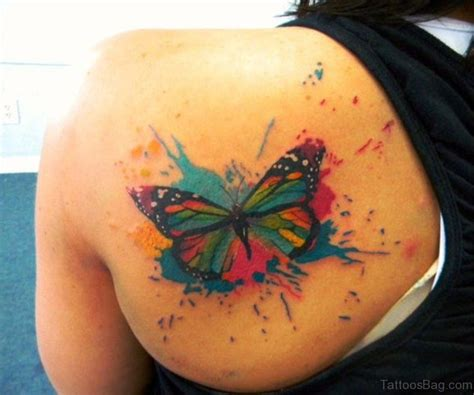 25 unique butterfly shoulder tattoo collection of 25 butterfly eye on back shoulder