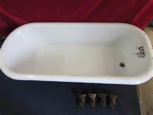 porcelain enamel bathtub lot detail large cast iron porcelain enameled claw foot