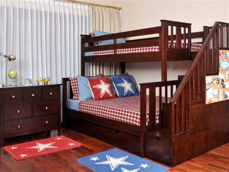 girls bunk beds with stairs loft bunk beds with stairs twin over full loft bunk bed