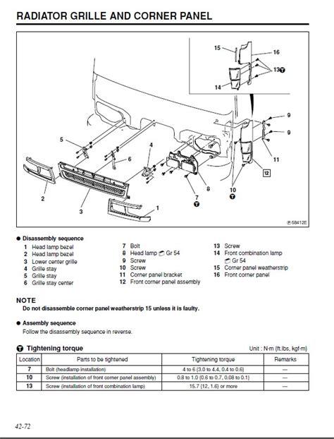 mitsubishi fuso repair manual mitsubishi fuso 2005 service manual pdf