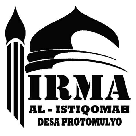 irma al istiqomah protomulyo logo ikatan remaja masjid