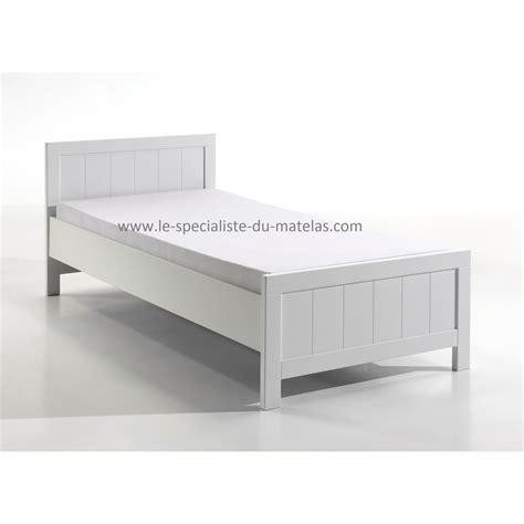 lit enfant blanc laqu 233 le sp 233 cialiste du matelas