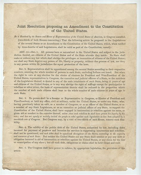 amendment 14 section 2 fourteenth amendment of the constitution act 1992 cadillac