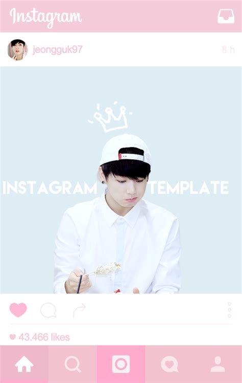 tema instagram gratis kpop headers templates tumblr