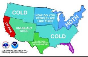 a weather map of the us right now weknowmemes
