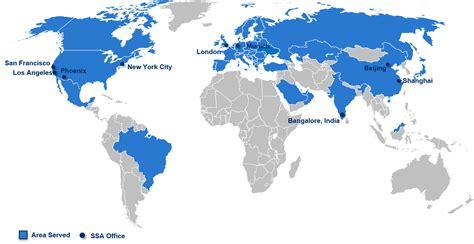 global map asia global reach global work a success