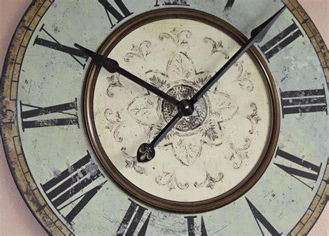 oversized clocks oversized wall clocks blue john robinson decor