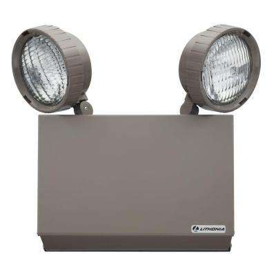 emergency light fixtures osha compliant lithonia lighting the home depot