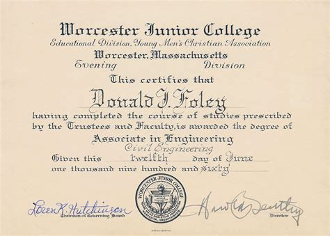 Civil Engineering Mba Degree by Donald Don Foley 78