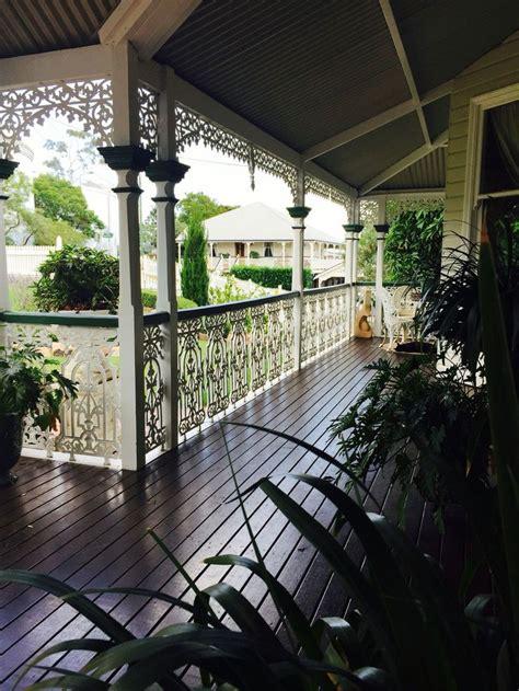 Veranda Doors Queenslander by Queenslander Verandah With Fretwork And Wrought Iron