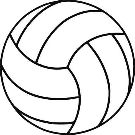 Free Printable Volleyball Pictures | free printable volleyball clip art shape collage