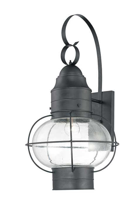 Cooper Light Fixtures Quoizel Cor8414k Cooper Transitional Outdoor Wall Sconce Large Qz Cor8414k