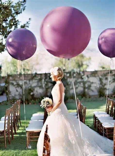 totally irresistible wedding balloon ideas brasslook