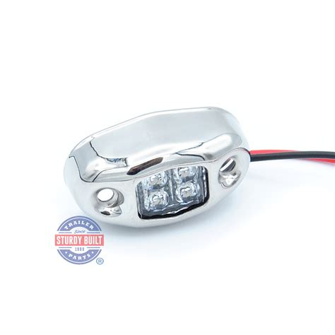 oval led boat lights led red boat light oval accent with 4 leds with stainless
