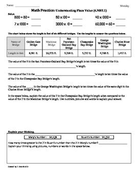 5 Nbt 1 Worksheets by 5 Nbt 1 Worksheets Worksheets Tutsstar Thousands Of