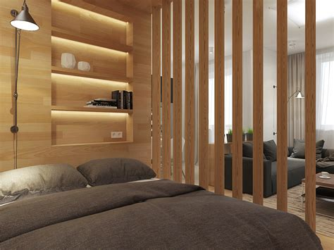 Dividers For Rooms by Small Smart Studios With Slick Simple Designs