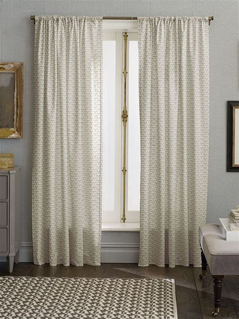 neutral color curtains the subtle detail and neutral color in these nate berkus
