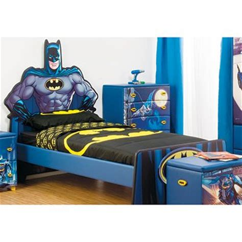 batman bedroom furniture single mdf bed frame for kids batman photo 1 kids