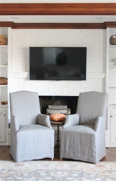 hiding cord  wall mount  flat screen tv diy mantel