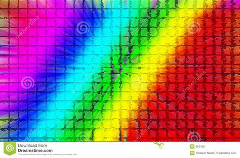 farbige fliesen multi farbige fliesen stock abbildung illustration