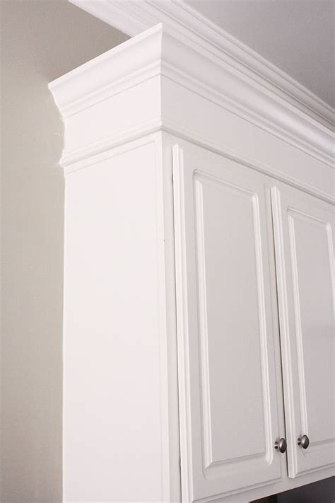 molding kitchen cabinets decorative moldings custom kitchen diy make kitchen cabinets look taller with