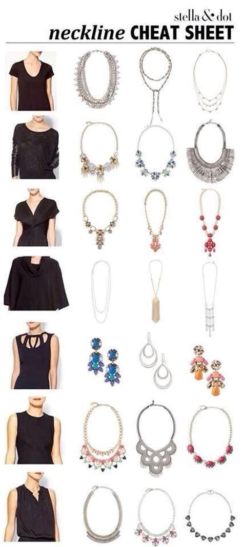 fashion design necklines 32 amazingly useful fashion infographics for women part