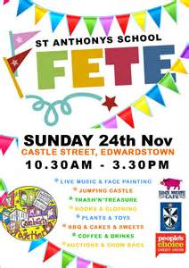 st anthony s fete 24 nov 2013 play and go