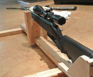 how to make a rifle bench rest guns shooting rest and diy and crafts on pinterest