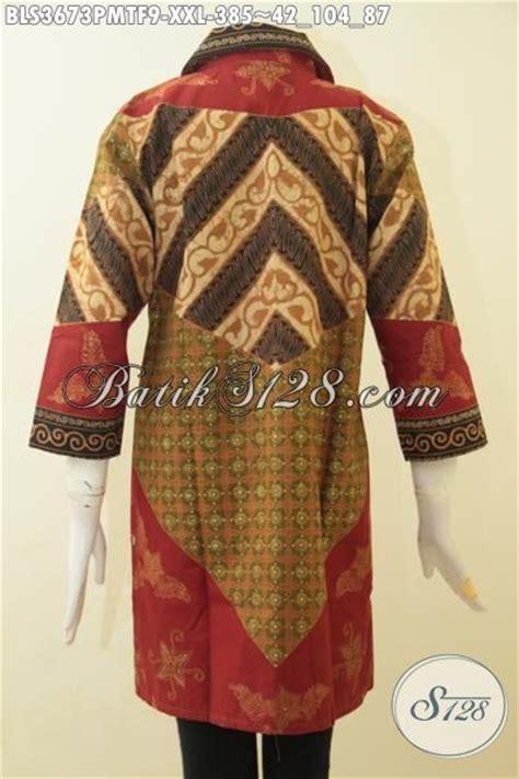 pakaian formal terkini produk pakaian batik wanita premium model terkini blus