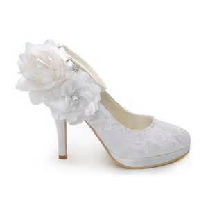 chaussure mariage poudrã chaussures femme blanc pour mariage ch044