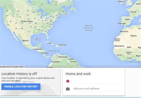 maps can t set home or work locations software