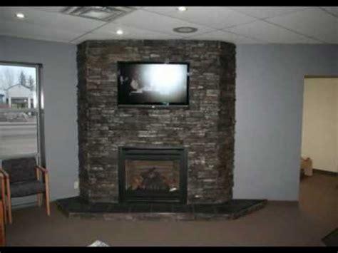 Rock Around Fireplace by Ledgestone Fireplace Montage Rock You Black Pearl