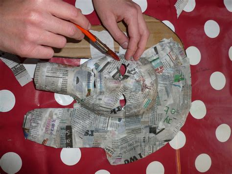 What Can I Make With Paper Mache - ancient mask archaeologists club