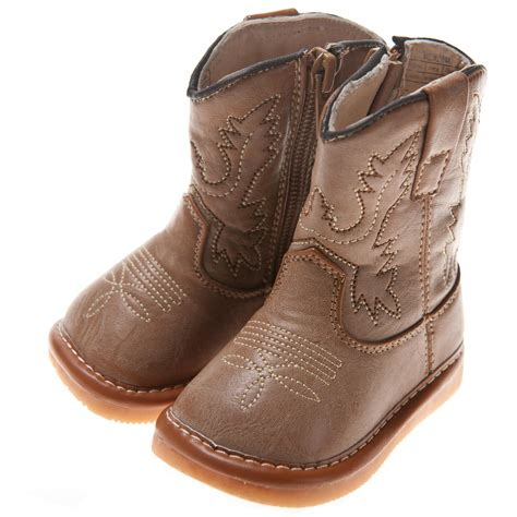 boots for baby cowboy squeaky boots toddler size1 7 ebay